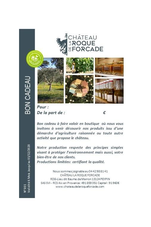copy of Bon cadeau 50 €